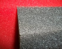 Filter foam wedges