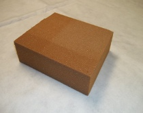 Brown Rigid Urethane Foam